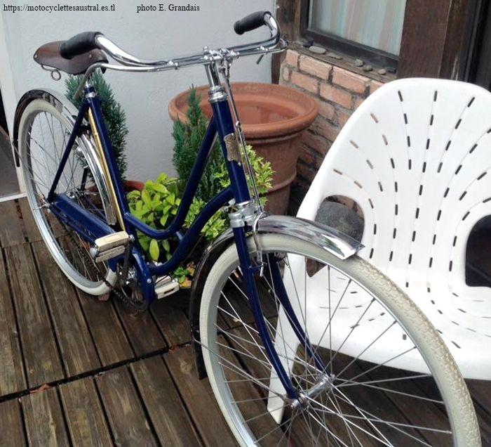 bicyclette dames Austral, début années 20