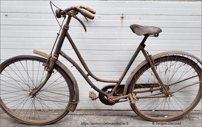 bicyclette Austral années 1920, propriété Jacques