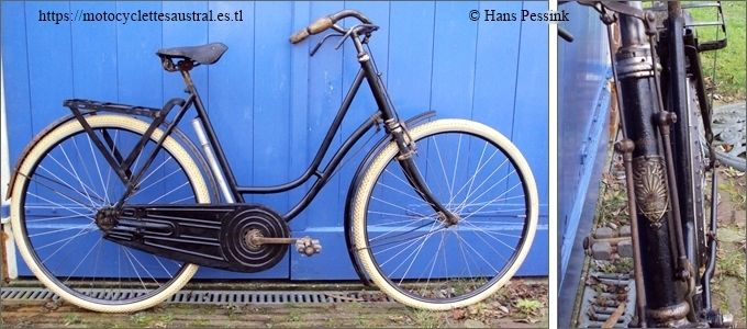 bicyclette Austral dames années 1920