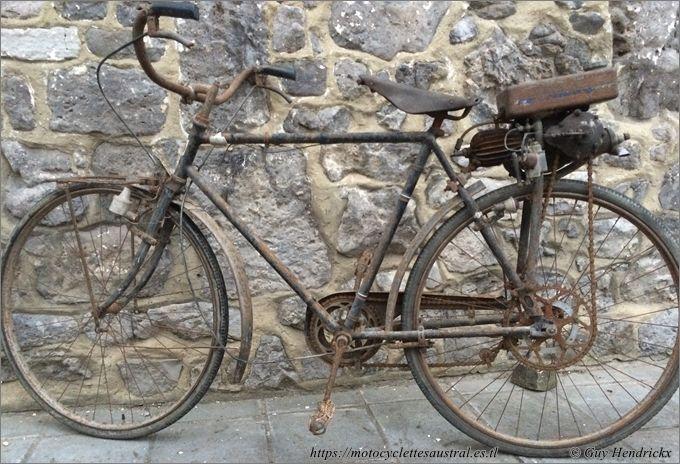 vélo à moteur auxiliaire Lutetia