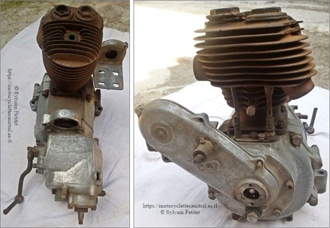 bloc-moteur Sturmey Archer 500 ccm