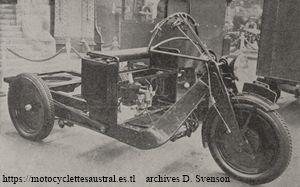 chassis de la camionnette Austral type L2, 1930
