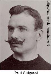 Portrait du cycliste Paul Guignard