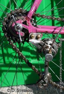 dérailleur Simplex du vélo de course 1947