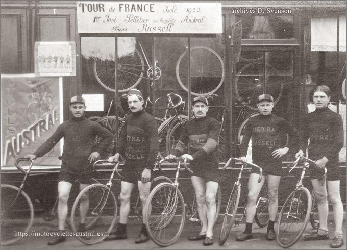 équipe Austral en 1923
