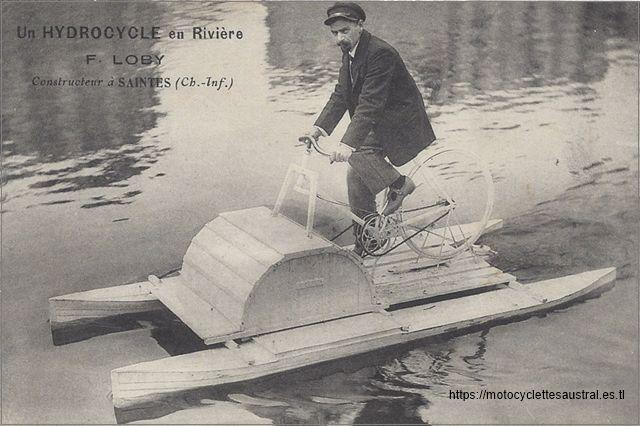 hydrocycle inventé par François Loby