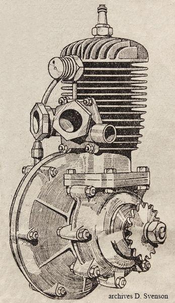 LMP 175 cmc,  type A1S à double échappement