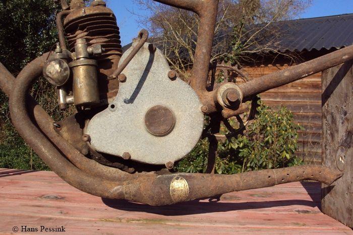 moteur P.S. de l'Austral A24 de H. Pessink