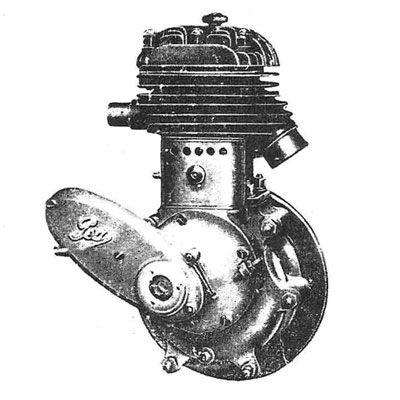 le moteur PEA P3 350 cm3 latéral