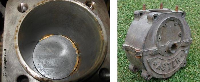 moteur Aster à ailettes, carter