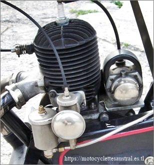 moteur Lutétia 250 ccm, 1928