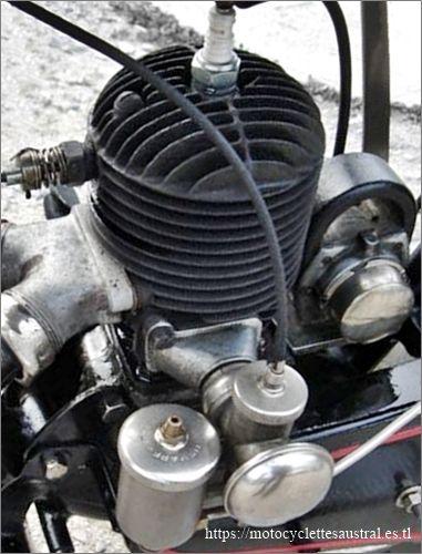 moteur Lutétia 250 ccm, 1928, avec carburateur Longuemare