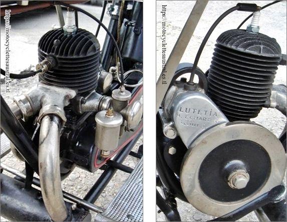 moteur Lutétia 250 ccm, 1928, les deux côtés