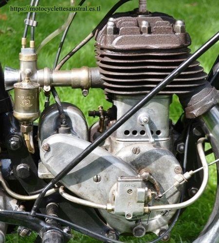 un moteur PEA P3