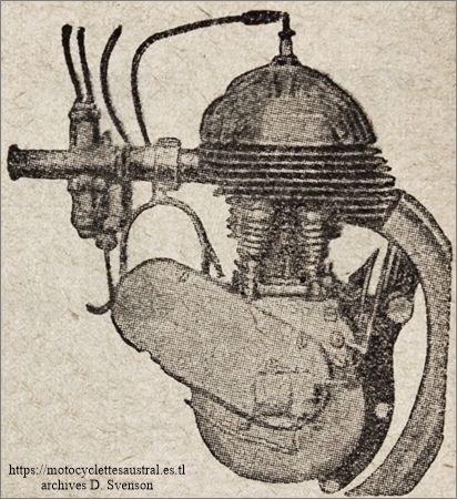 le moteur Voisin 350 cm3 latérales