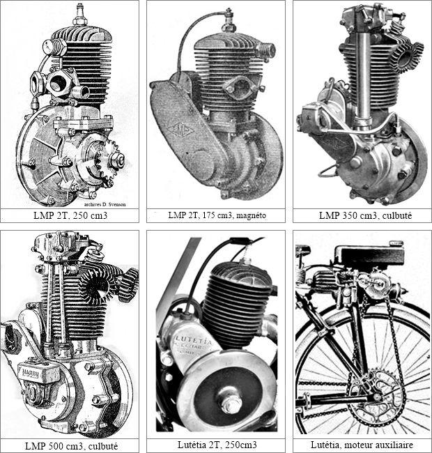 synopsis des moteurs utilisés sur les véhicules Austral 3