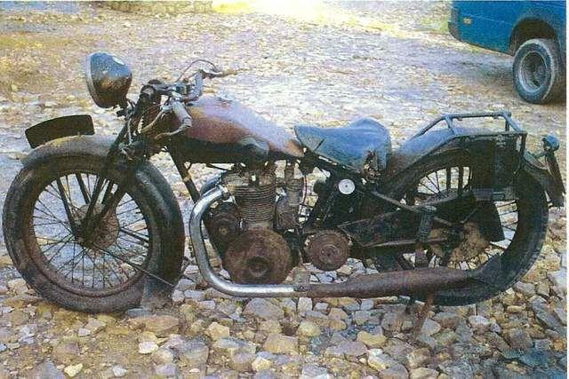 Austral moto type GS 500 cm3 1929