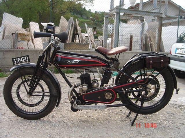 Austral moto type PC 1927, moteur Lutétia