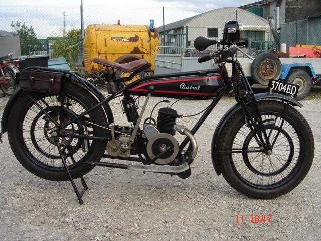 Austral motocyclette type PC 1927, moteur Lutétia