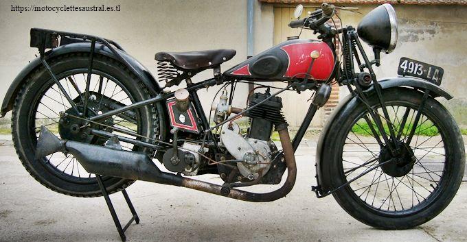 moto Austral type NV, 1929, à moteur PEA P3
