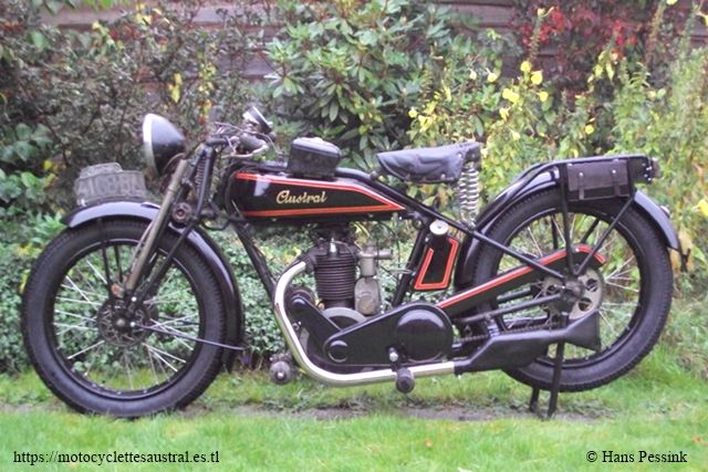moto Austral Supersport 1928 à moteur LMP
