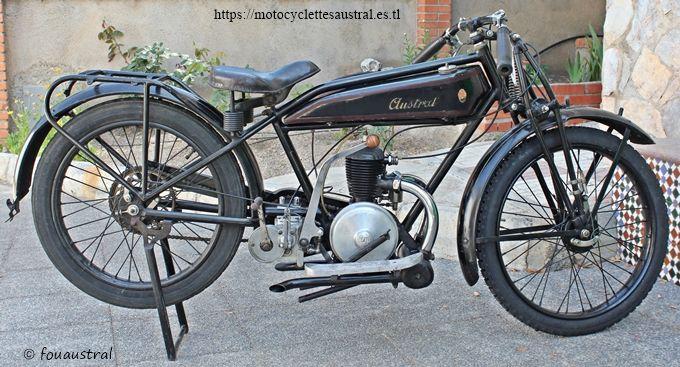 moto Austral 1926 GT 26, provenance coll. Gérard Dechambre, propriété de l'auteur.