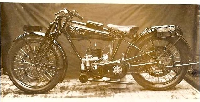 motocyclette Austral type P.C. 250, 1928