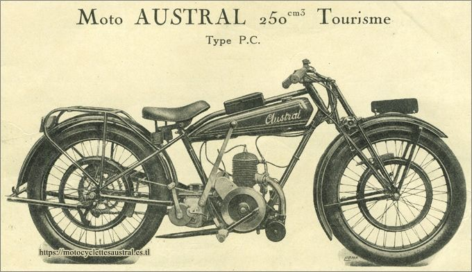 moto Austral type PC 1928
