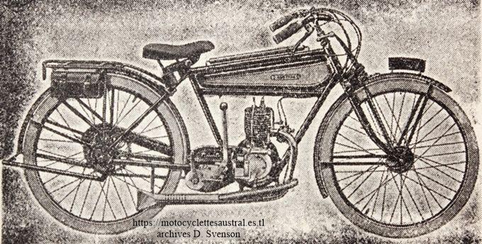 Austral motocyclette légère 1925