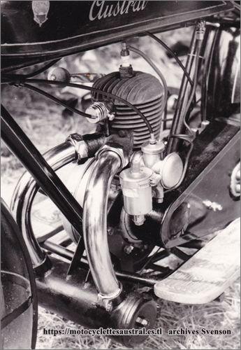 moteur LMP de la moto GT 26, photo années 1970