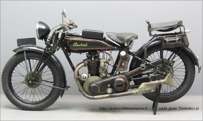 moto Austral type SS, ex Stephane H.