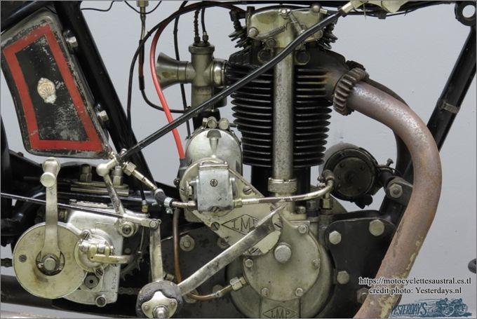 moto Austral type SS, ex Stephane H. détail du moteur LMP