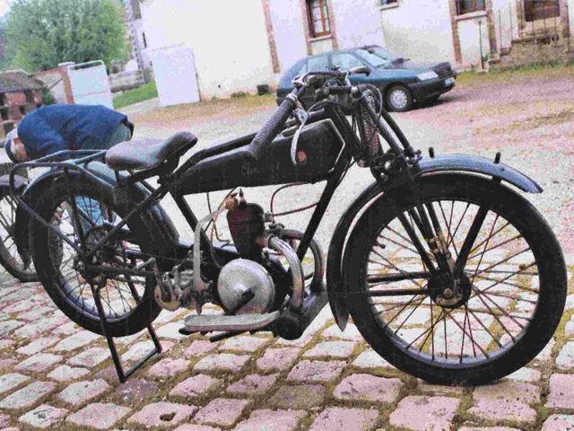 Austral moto type Standard 1927 ou type C27, fourche AYA, moteur LMP 175 cm3
