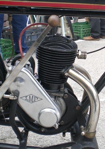 motocyclette Austral PC3 1929, le moteur LMP 250cm3 (type B2)