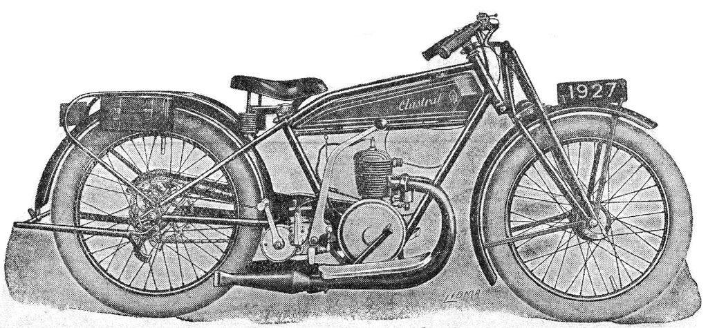1927 moto Austral du type Confort