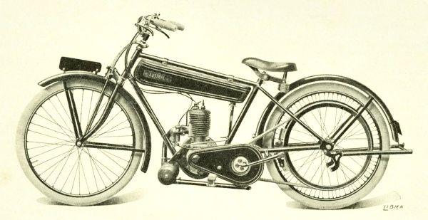 Austral moto légère 175 cm3 type Standard, 1926
