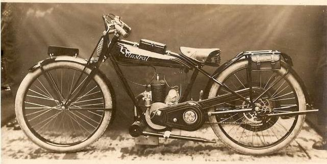 moto Austral type Standard 27, 175 cm3, 1928