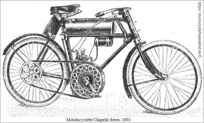 La motocyclette Chapelle Frères