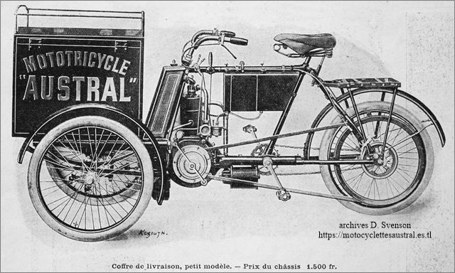 mototricycle Austral type A