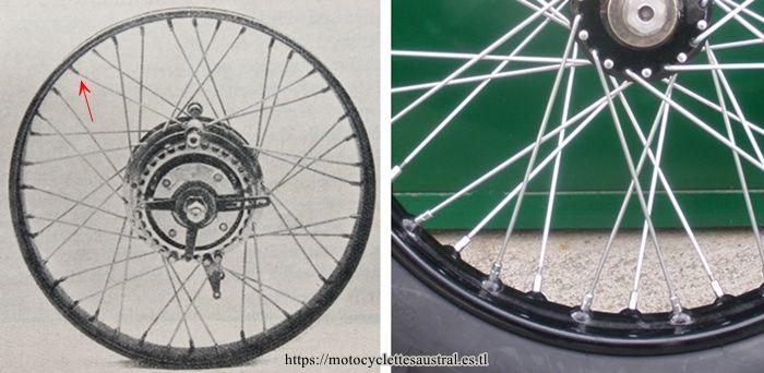 moyeu Rivierre et roue Terrot