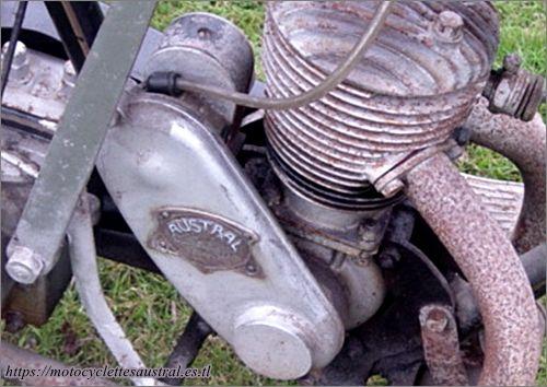 moteur LMP avec plaque Austral