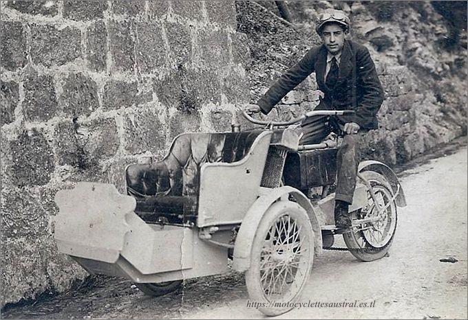 tricar Austral, taxi à Nice