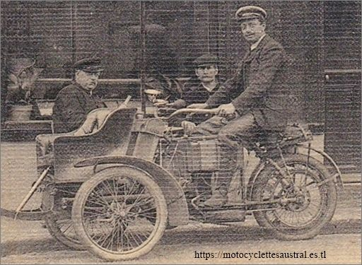 tricar Austral type B série 2, à Vernon