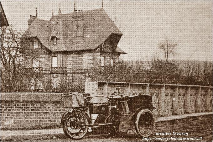 Austral tricar B 2ième série, carte postale, Saint-Martin aux Chartrains