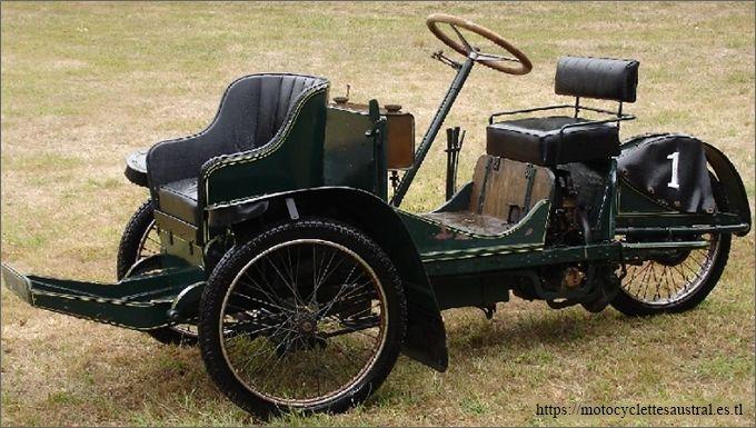 survivant, conservé, Austral tricar type G aujourd'hui