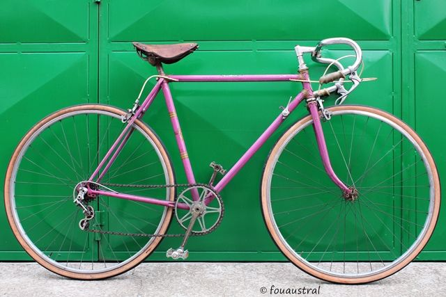 vélo Austral 1947, propriété D. Svenson