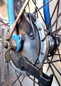 frein avant du vélo porteur