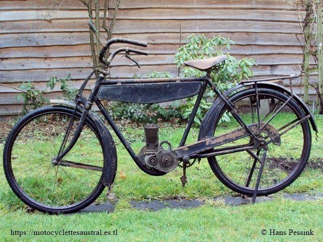 vélomoteur Austral A 24, 1924, propriétaire Hans