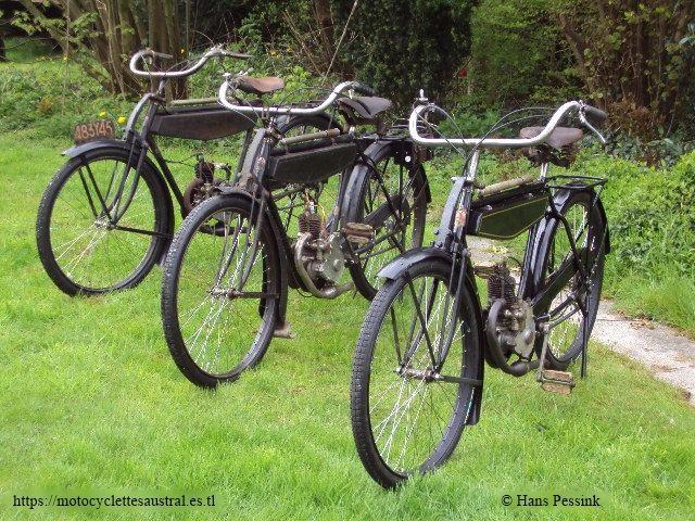 trois vélomoteurs Austral type A 24