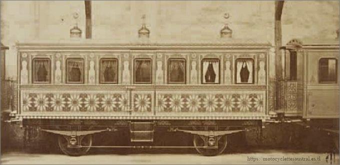 le wagon du Sultan de Turquie, Chevalier, Cheilus jeune et Cie, 1870